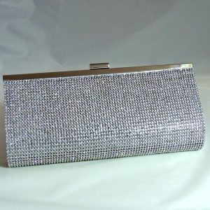 Whitney Full Crystal Clutch Bag