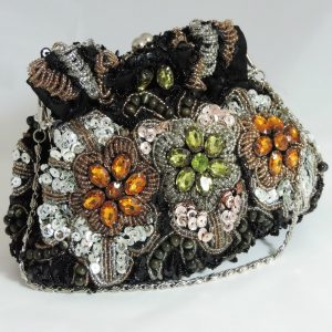 Sabrina Multi Beaded Pouch