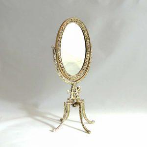 Small Gold Dresser Mirror