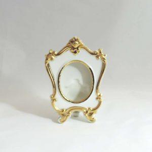 Petite Gold Trim Dresser Frame