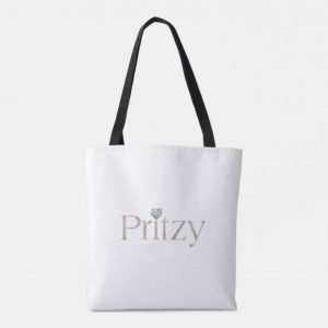 White Signature Tote Bag