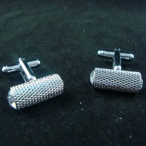 Craig Barrel Crystal Cufflinks