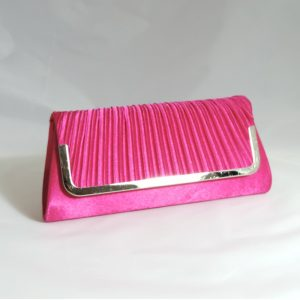 Juliette Pink Clutch