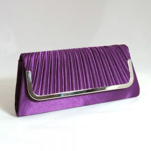 Juliette Purple Clutch