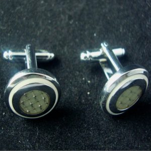 Shaun Pearl Button Cufflinks