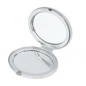 Signature Black Oval Mirror