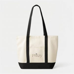 Natural/Black Signature Tote