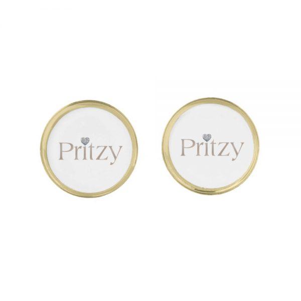 Pritzy Gold Cufflinks 2