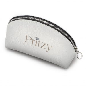 White Signature Accessories Pouch